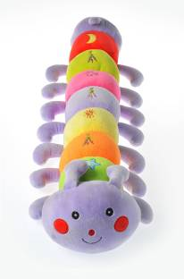 Dimpy Stuff Caterpillar W/Emb. - 75 cm