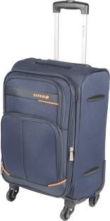 Safari Maasaimara 4w trolley 55 Expandable  Cabin Luggage - 21 Inches