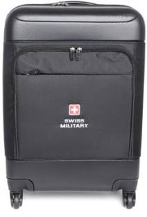 5a6ebc1f48 Swiss Military POLYESTER MEDIUM Size 24inch TRAVEL LUGGAGE Check-in Luggage  - 24 inch