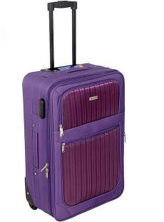 5ee285a5a2e4 ALFA Volcano Check-in Luggage - 25 inch Red - Price in India ...