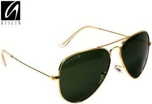 002cd445a4fb Buy Decode Aviator Sunglasses Green For Men   Women Online   Best ...