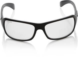 Fastrack P117WH3 Wrap-around Sunglasses