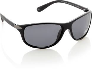 7cf1e0fc303 Buy Lacoste Oval Sunglasses Grey For Men Online   Best Prices in ...