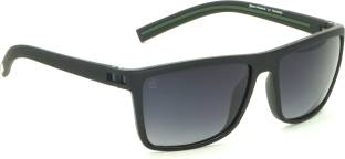 18c9d18cd215 Buy Fila Rectangular Sunglasses Black For Men Online @ Best Prices ...