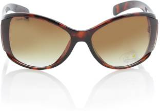 Fastrack P153BR1F Over-sized Sunglasses
