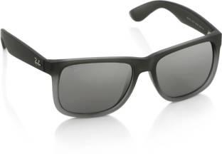b82c99935 Buy Ray-Ban Wayfarer Sunglasses Violet For Men Online @ Best Prices ...