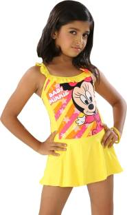 0529e893b2 Fascinating Printed Girls Swimsuit - Buy Multi Yellow Fascinating ...