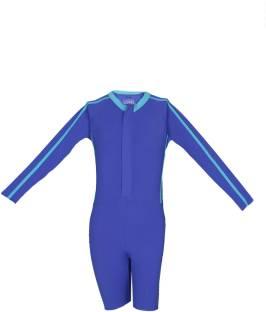 ab4692276d Nabaiji by Decathlon Full Body Swimsuit Self Design Boys Swimsuit ...
