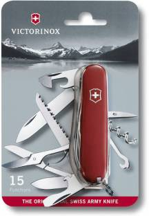 Victorinox Swiss Army Knife Ecoline 15 Function Multi Utility Swiss Knife