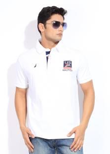 baccb46ed51c UCLA Solid Men's Polo Neck Blue T-Shirt - Buy NEWBLUE UCLA Solid ...
