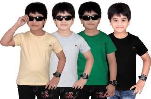 FabTag   Dongli Boys Solid T Shirt
