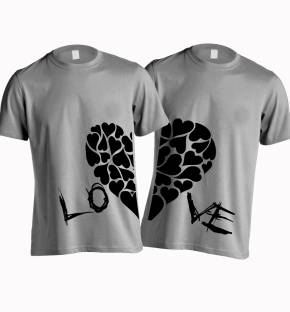 Couple T Shirts - Buy Couple T Shirts online at best prices ...
