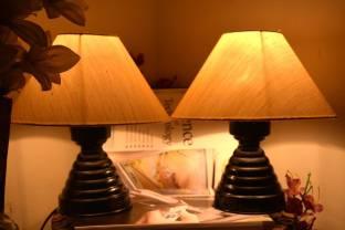 Yashasvi combo of cream lamp and cream lamp table lamp price in yashasvi combo of cream lamp and cream lamp table lamp aloadofball Choice Image