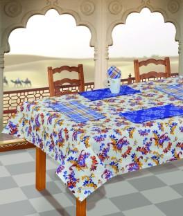 Salona Bichona Blue Satin Table Linen Set & Salona Bichona Table Linen Sets - Buy Salona Bichona Table Linen ...