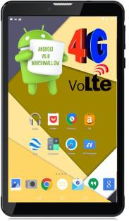 I Kall N4 1 GB RAM 16 GB ROM 7 inch with Wi-Fi+4G Tablet (Black)