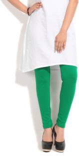 Aurelia Solid Women's Green Tight