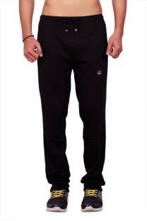Vimal Solid Men's Black Track Pants