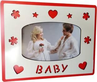 Ghasitaram Gifts Mirror Cum Phote Frame Ss 782 With Valentine