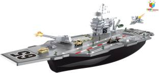 This Durable Plastic Aircraft Carrier Playset Has Three Reaic Sounds And Es With Six Cast Metal Airplanes Item Mo Ac