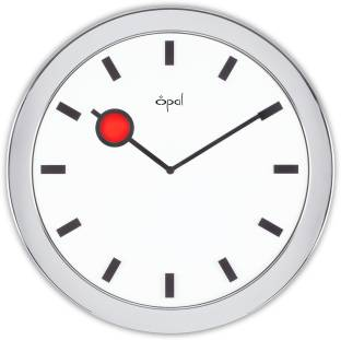 opal analog wall clock - Designer Wall Clocks Online