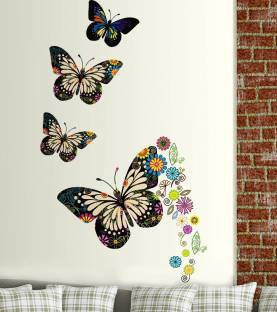 New Way Decals Wall Sticker Animals Wallpaper Price in India Buy