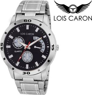 wrist watches buy men s ladies wrist hand watches online at lois caron lcs 4048 chronograph pattern analog watch for men