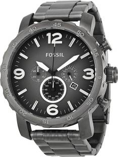 638ad1aefdb Fossil JR1491 Nate Casual Watch - For Men - Buy Fossil JR1491 Nate ...
