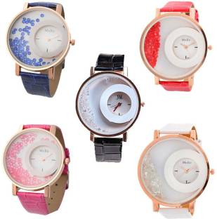 3313148c7 SPINOZA glory multicolor watches and mxre pink leather belt watches ...