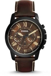 481bafc784c Fossil ME3100 GRANT Watch - For Men - Buy Fossil ME3100 GRANT Watch ...