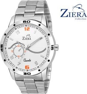 Ziera Zr7016 Special Dezined Collection Silver Watch For Men