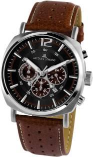 5b7b5956 Jacques Lemans 1-1654F Hybrid Watch - For Men - Buy Jacques Lemans 1 ...