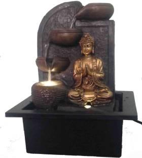 Japson Gautam Buddha Indoor Water Fountain Showpiece for Home ... 83206a59d1