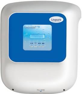 e254127db41 Livpure TOUCH 2000 PLUS 8.5 L RO + UV + UF Water Purifier. Add to Compare