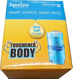 Eureka Forbes Aquasure Xtra Tuff 15 L Gravity Based Water Purifier
