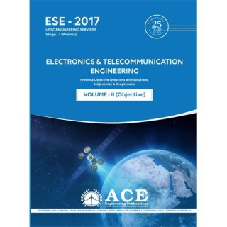 ESE2017Stage1(Prelims) Electronics & Communictions Engg Objective Volume II : Previous Objective Questions with Solutions, subjectwise & chapterwise with 0 Disc price comparison at Flipkart, Amazon, Crossword, Uread, Bookadda, Landmark, Homeshop18