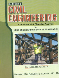 UPSC - Hand Book of Civil Engineering : Conventional & Objective Analysis for Engineering Services Examination 1st  Edition price comparison at Flipkart, Amazon, Crossword, Uread, Bookadda, Landmark, Homeshop18