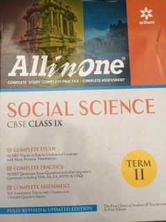 All in One. Social Science, CBSE Class 9th, Term II price comparison at Flipkart, Amazon, Crossword, Uread, Bookadda, Landmark, Homeshop18