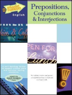 Prepositions, Conjunctions and Interjections (Straight Forward English) price comparison at Flipkart, Amazon, Crossword, Uread, Bookadda, Landmark, Homeshop18