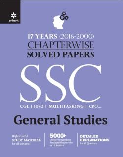 SSC General Studies : 17 Years (2000-2016) Chapterwise Solved Papers Third Edition price comparison at Flipkart, Amazon, Crossword, Uread, Bookadda, Landmark, Homeshop18