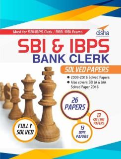 SBI & IBPS Bank Clerk Solved Papers - 26 papers price comparison at Flipkart, Amazon, Crossword, Uread, Bookadda, Landmark, Homeshop18