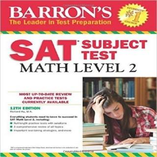 Barron's SAT Subject Test Math Level 2 Paperback 11th Edition
