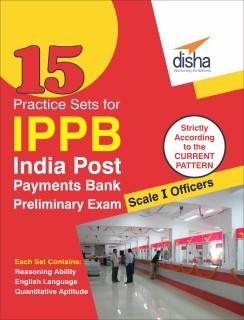 15 Practice Sets for Indian Post Payments Bank Scale I Preliminary Exam price comparison at Flipkart, Amazon, Crossword, Uread, Bookadda, Landmark, Homeshop18