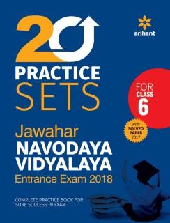 Jawahar Navodaya Vidyalaya - 20 Practice Sets - Entrance Exam 2018 : For Class 6, With Solved Paper 2017 First Edition price comparison at Flipkart, Amazon, Crossword, Uread, Bookadda, Landmark, Homeshop18