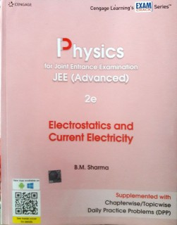 Physics for Joint Entrance Examination JEE Advanced - Electrostatic and Current Electricity price comparison at Flipkart, Amazon, Crossword, Uread, Bookadda, Landmark, Homeshop18