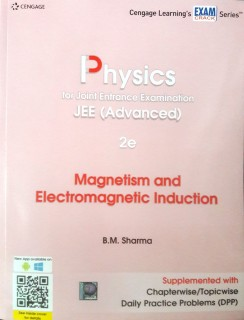 Physics for Joint Entrance Examination JEE Advanced - Magnetism and Electromagnetic Induction price comparison at Flipkart, Amazon, Crossword, Uread, Bookadda, Landmark, Homeshop18