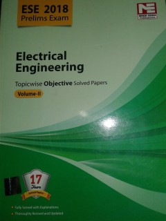 ESE 2018 ELECTRICAL ENGINEERING TOPICWISE OBJECTIVE VOL-II price comparison at Flipkart, Amazon, Crossword, Uread, Bookadda, Landmark, Homeshop18