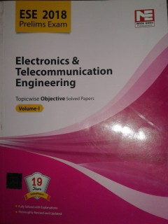 ESE 2018 PRELIMS ELECTRONICS & COMMUNICATION EBGINEERING TOPICWISE OBJECTIVE VOLUME-I price comparison at Flipkart, Amazon, Crossword, Uread, Bookadda, Landmark, Homeshop18