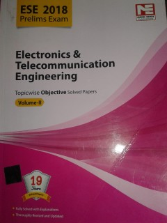ESE-2018 ELECTRONICS & TELECOMMUNICATION ENGINEERING price comparison at Flipkart, Amazon, Crossword, Uread, Bookadda, Landmark, Homeshop18