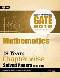 GATE - Mathematics 2018 (18 Years Chapter-wise Solved Papers 2000-2017) First Edition price comparison at Flipkart, Amazon, Crossword, Uread, Bookadda, Landmark, Homeshop18