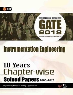 GATE - Instrumentation Engineering 2018 : 18 Years Chapter-wise Solved Papers 2000-2017 First Edition price comparison at Flipkart, Amazon, Crossword, Uread, Bookadda, Landmark, Homeshop18